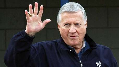 This file photo shows New York Yankees owner