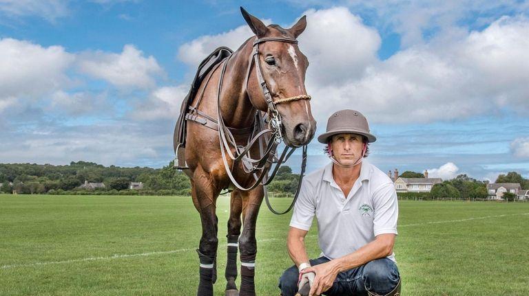 """Ignacio """"Nacho"""" Cabrera, a professional polo player and"""