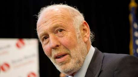 James Simons, seen here on Dec. 14, 2011,