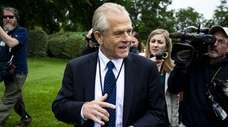 Peter Navarro, director of the National Trade Council,