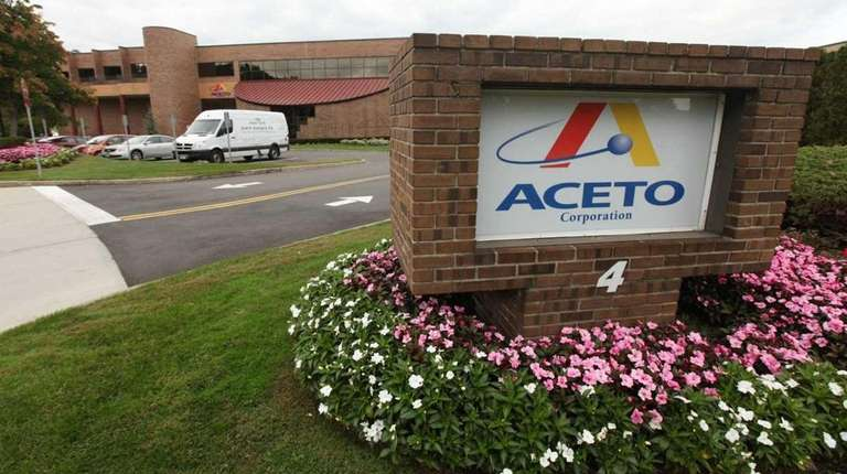Aceto Corp. headquarters in Port Washington, Oct. 21,