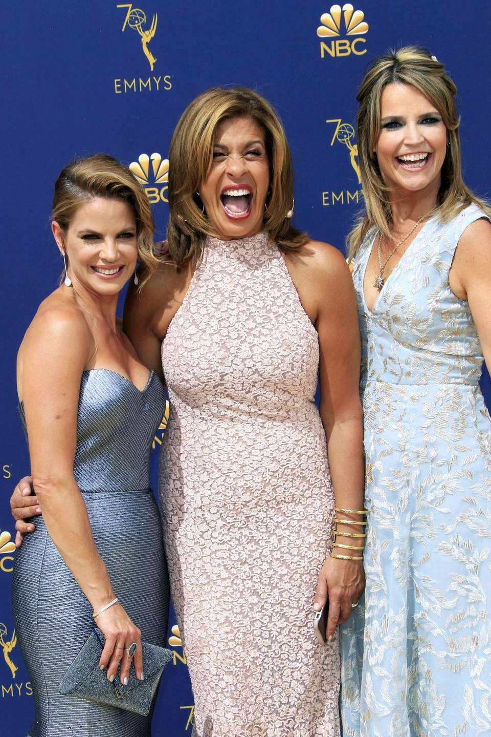 From left, Natalie Morales, Hoda Kotb and Savannah