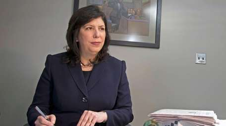 Nassau County District Attorney Madeline Singas in February.