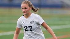 Northport's Alexa Ramonetti (27) moves the ball in