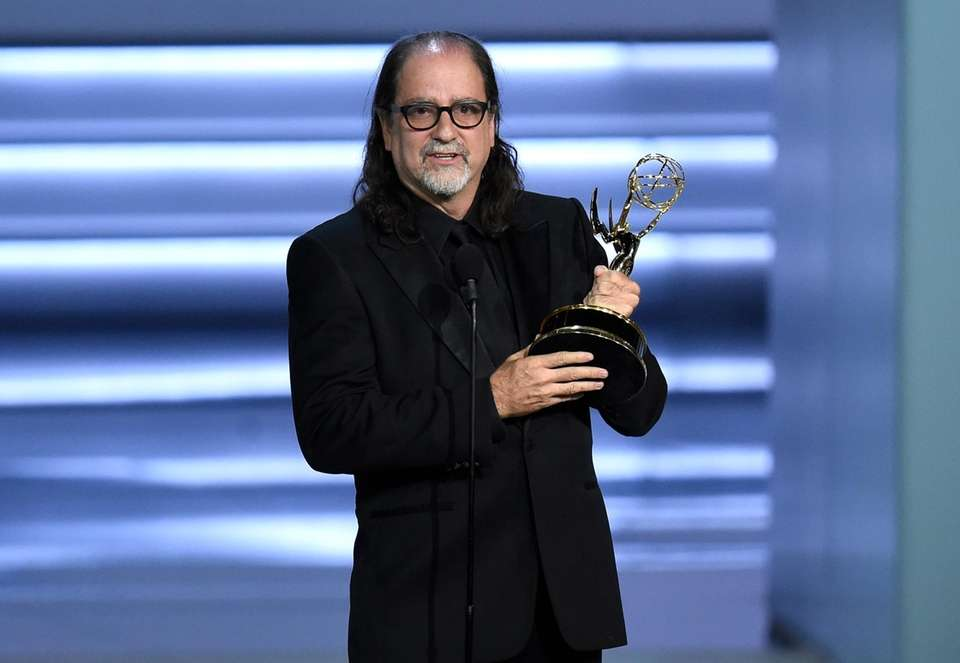 Long Island native Glenn Weiss won for outstanding