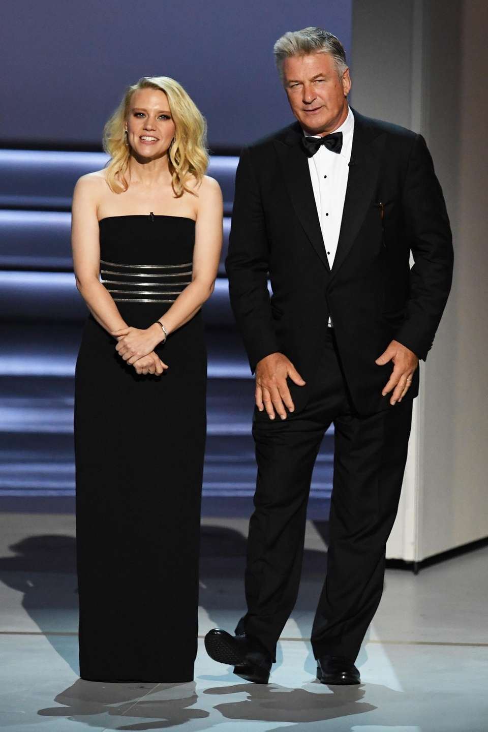 Long Islanders Kate McKinnon and Alec Baldwin introduce