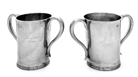These two church beakers from around 1748 are