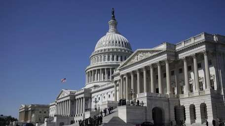 File photo of Capitol Hill in Washington on