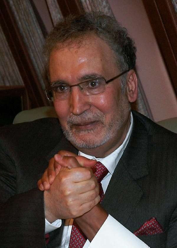 Freed Lockerbie bomber Abdelbaset Ali Mohmet al-Megrahi, the