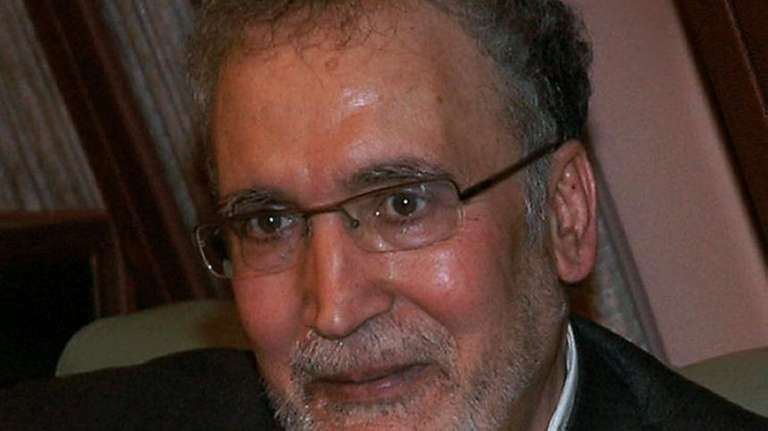 Freed Lockerbie bomber Abdelbaset Ali Mohmet al-Megrahi, the