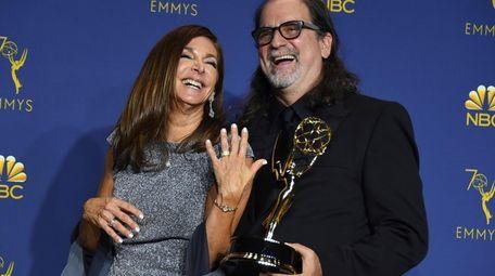 Glenn Weiss, winner of the award for outstanding