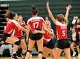 Patchogue-Medford vs. Ward Melville girls volleyball