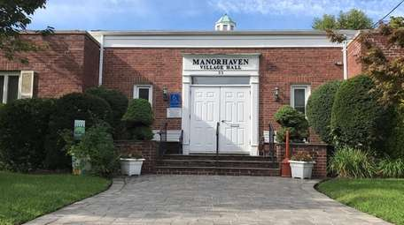 Manorhaven Village Hall on Sept. 26, 2017. The