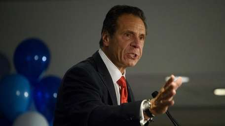 Gov. Andrew M. Cuomo in Manhattan on Sept.