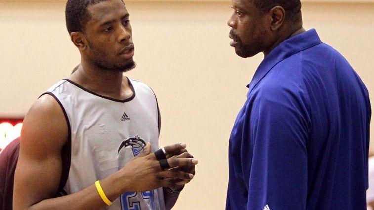 Patrick Ewing Jr. and dad Patrick Ewing talk