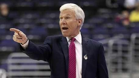 Davidson head coach Bob McKillop in the Atlantic