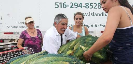 Alfonso Paredes of God Provisions in Central Islip