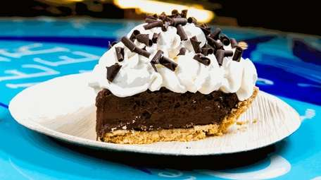 House-made chocolate cream pie highlights the desserts at