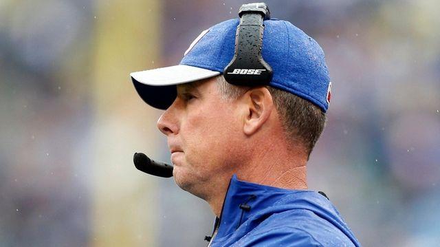 Giants head coach Pat Shurmur against the Jacksonville