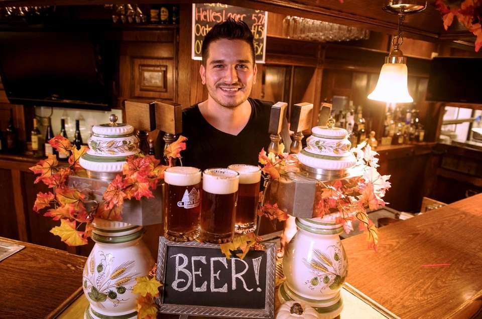 Marco Messina, Brew Master from Germany, at the