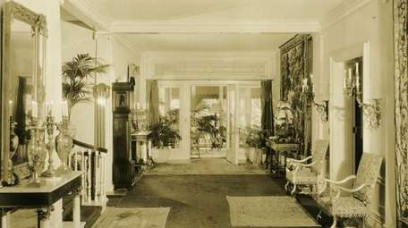 Inside the mansion in East Islip