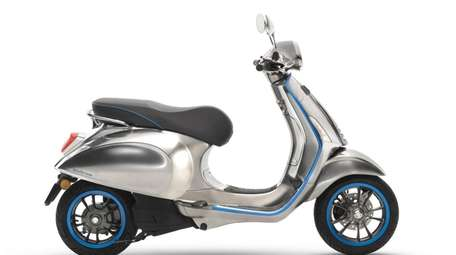 Vespa goes electric - Vespa has announced that