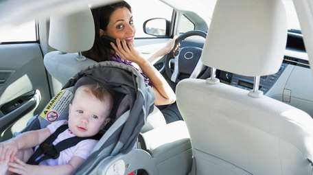 Dangerous distractions - About 25 percent of car