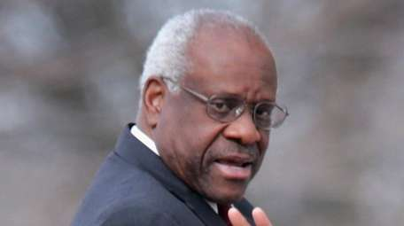 U.S. Supreme Court Justice Clarence Thomas in Washington