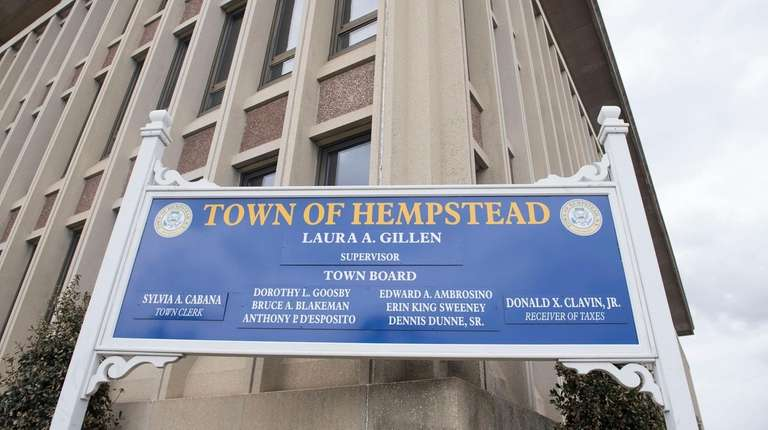 Hempstead Town Hall was used for filming an