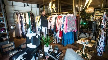 Designer Alex Vinash's Boutique is at American Beech