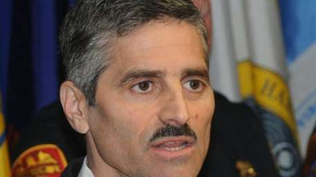 Suffolk County Executive Steve Levy