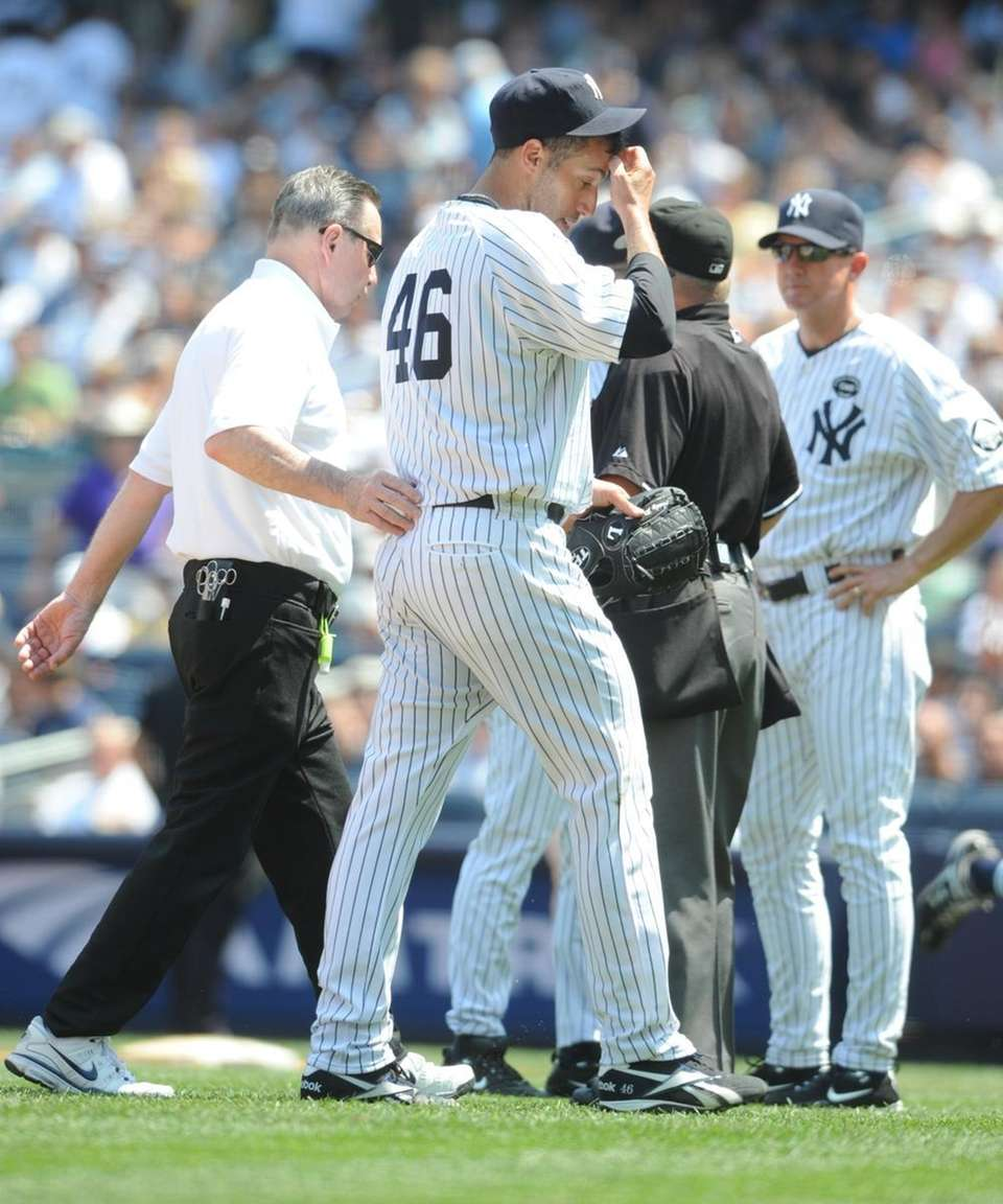 THE AGING, INJURED YANKEES LIMPING INTO THE POST