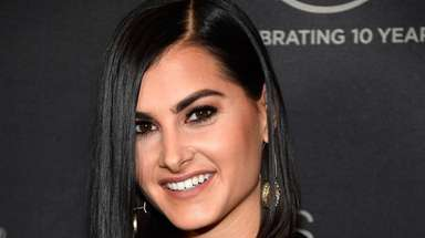 UFC host and reporter Megan Olivi attends the