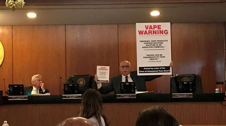 The Hempstead Town Board voted Thursday to require
