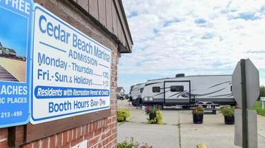 Cedar Beach Marina on Ocean Parkway in Babylon