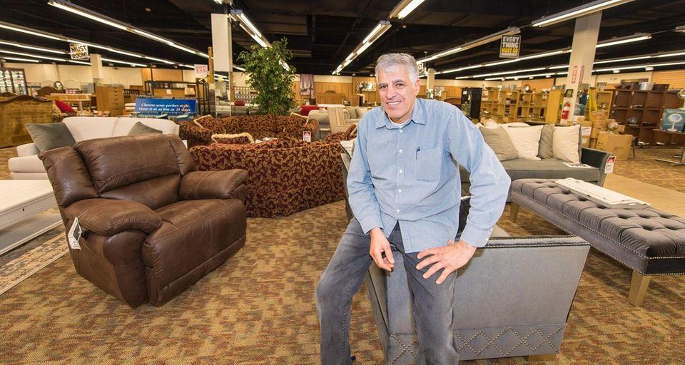 Leonardo Furniture owner Rami Macani is closing his