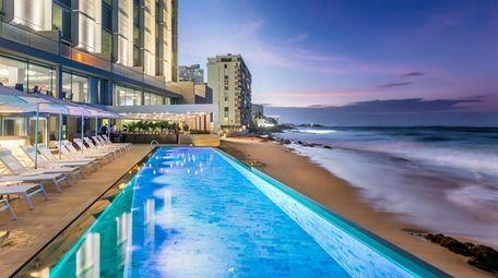 Despite Hurricane Maria, the Serafina Beach Hotel in
