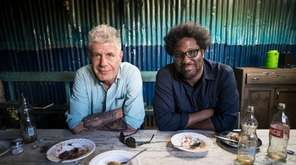 Anthony Bourdain with W. Kamau Bell in Nairobi,