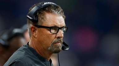 Browns defensive coordinator Gregg Williams watches during the
