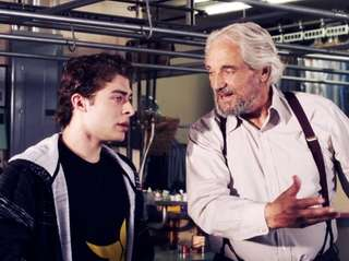 Ryan Ochoa, left, and Hal Linden appear in