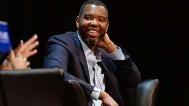 Ta-Nehisi Coates speaks to students at Hofstra University