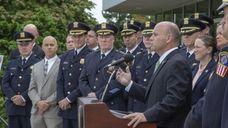 Nassau County law enforcement officials announced Thursday at
