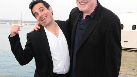 Mario Cantone and Richard Kind host the Baystreet