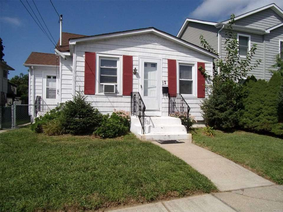 This North Bellmore bungalow includes two bedrooms and