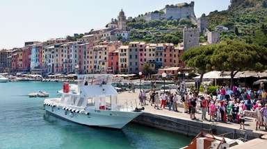 Porto Venere is the perfect jumping-off point for