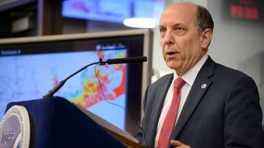 Louis Uccellini, director of the National Weather Service,