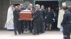 Friends, family and Brentwood community members gathered at