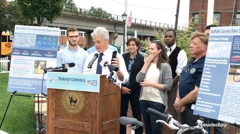 Suffolk County Executive Steve Bellone appeared on Car