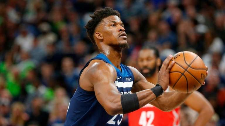 Minnesota Timberwolves All-Star forward Jimmy Butler is the