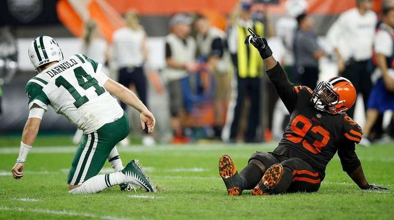 Sam Darnold and the Jets were grounded in